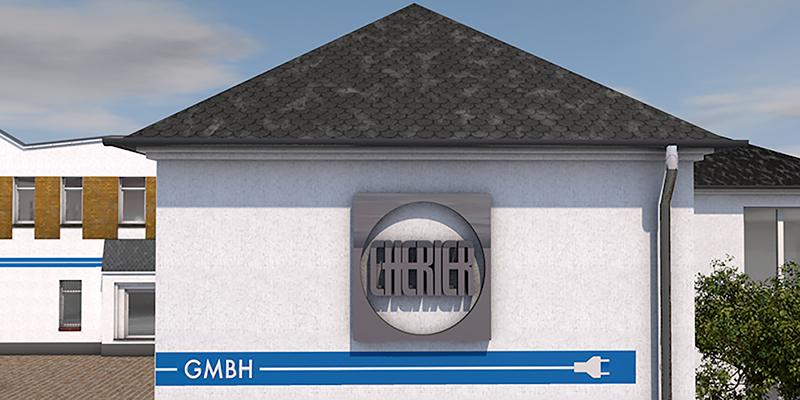 Cherier Layout Firmengebäude