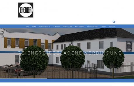 Cherier Webseite
