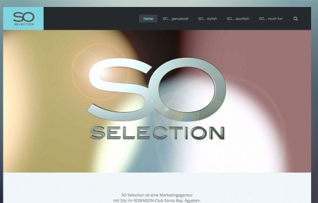 SO selection Webseite