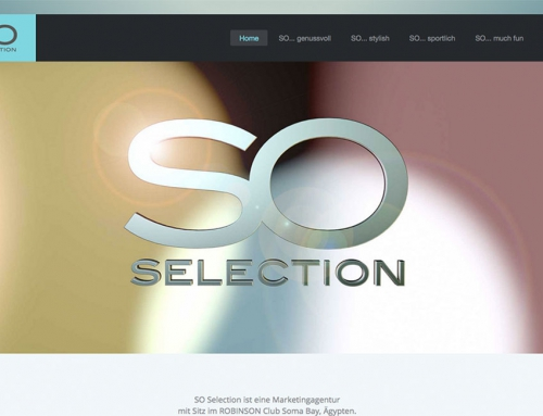 so-selection – Webdesign und Produktdesign