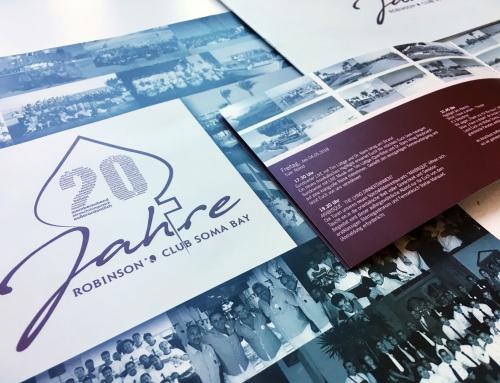 20 Jahre Robinson Club Soma Bay – Print – Setdesign