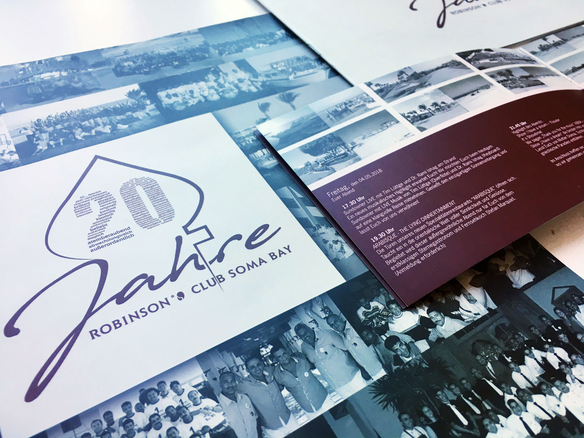 20 Jahre Robinson Club Soma Bay